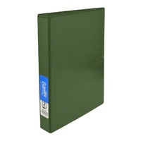 Bantex Insert Ring Binder Standard PP A4 2D Ring 25mm - Green