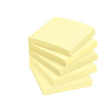 Stick On Notes 76mm X 76mm X 100 Sheets Yellow EACH