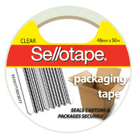 Tape Packaging Sellotape 48Mmx50M Clear