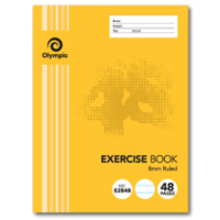 48 Page Exercise Book Stapled