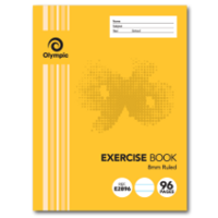 96-page exercise book stapled