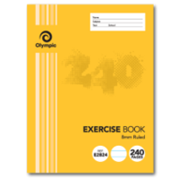 240 Page Exercise Book Section Bound