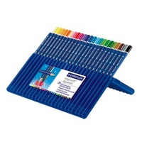 Staedtler Ergo soft aquarell watercolour pencils - wallet of 24