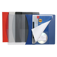 A4 Marbig File Flat Premier Insert Cover Blue