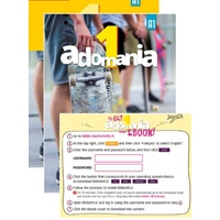 Adomania 1/A1 Student Pack English version (TBK, WBK, eBook)