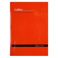Account Book Collins A24 3 Money Column (Treble Cash)