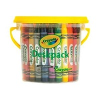 48 Large Crayon Crayola Deskpack (8 colors)