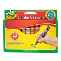 "12 My First""¢ Jumbo Crayons (101 x 14mm)"