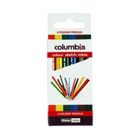 Columbia Pencil Coloursketch Half Ass Pk6