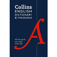 Collins English Dictionary and Thesaurus Essential 6TH Edition