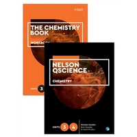 Nelson Qscience Chemistry Units 3 & 4 Student Book and Workbook Pack