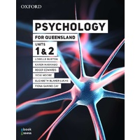 Psychology for Queensland Units 1&2 Student book + obook assess