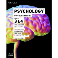 Psychology for QLD Units 3&4 Student book + obook assess