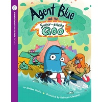 Agent Blue & Super Smelly Goo (Pack of 6 with Comprehension Card)