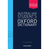 Australian Student's Oxford Dictionary 5e Hard Cover