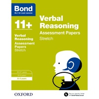 Bond 11 Verbal Reasoning Stretch Practice 8 to 9