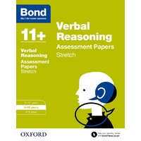Bond 11 Verbal Reasoning Stretch Practice 9 to 10
