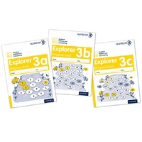 Number, Pattern & Calculating Explorer Progress Book 3 A,B,C (Mixed Pack)