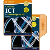 Complete ICT for Cambridge IGCSE Print and online student book pack