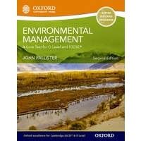 Environmental Management for Cambridge O Level & IGCSE Student Book