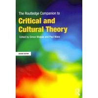 The Routledge Companion to Critical and Cultural Theory (POD)