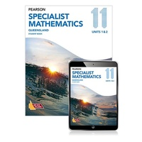 Pearson Qld Specialist Maths 11 Sb/R (Revised Edition)