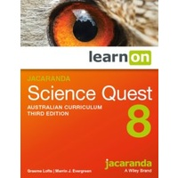 Jacaranda Science Quest 8 AC 3E LearnON