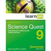 Jacaranda Science Quest 9 AC 3E LearnON