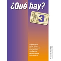 ?Que Hay? Teacher's Guide 3