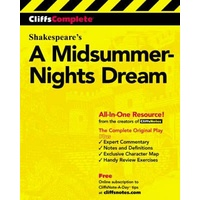 CliffsComplete Shakespeare's Midsummer Nights Dream