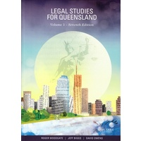 Legal studies for queensland- volume 1 seventh edition