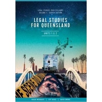 Legal Studies for Queensland Volume 1, Units 1 & 2 8th Edition