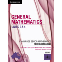 CSM QLD General Mathematics Units 3&4 1e