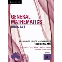 General Mathematics Units 3&4 for Queensland (interactive textbook powered by Cambridge HOTmaths)