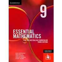 Essential Maths Australian Curriculum Year 9 3e (Print & Digital)