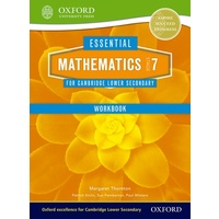 Essential Mathematics for Cambridge Secondary 1 Stage 7 Work Book