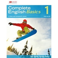 Complete English Basics 1 3Ed Sb/Onl