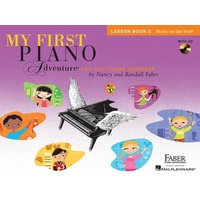 My First Piano Adventure Lesson Book C with Play-Along & Listening CD