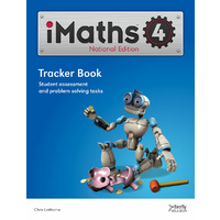 iMaths 4 Tracker Book