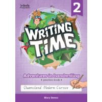 Writing Time 2 (Queensland Modern Cursive) Student Practice Book