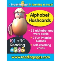ABC Reading Eggs Level 1 Starting Out Alphabet Flashcards Ages 4'6
