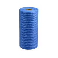 Cleaning Wipes Roll Blue 30X50Cm 60 Sheets