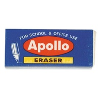 Eraser Apollo Large With Sleeve (Each)