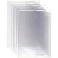 Book Covers Clear Pvc 9 X 7 (230 X 370 Mm Overall) Vertical Pocket