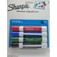 Marker Sharpie/Expo Whiteboard Bullet Point Set 4