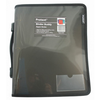Binder Protext A4 3 -Ring 25Mm Zippered Smoke
