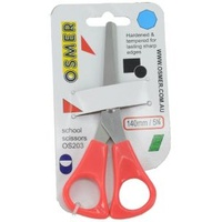 Scissors osmer 140mm Red handle