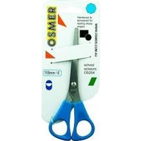 Osmer Scissor (Right Handed) 150mm Blue Handle