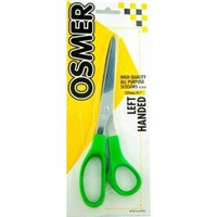 Osmer Lefthand Scissor 215Mm Green Handle